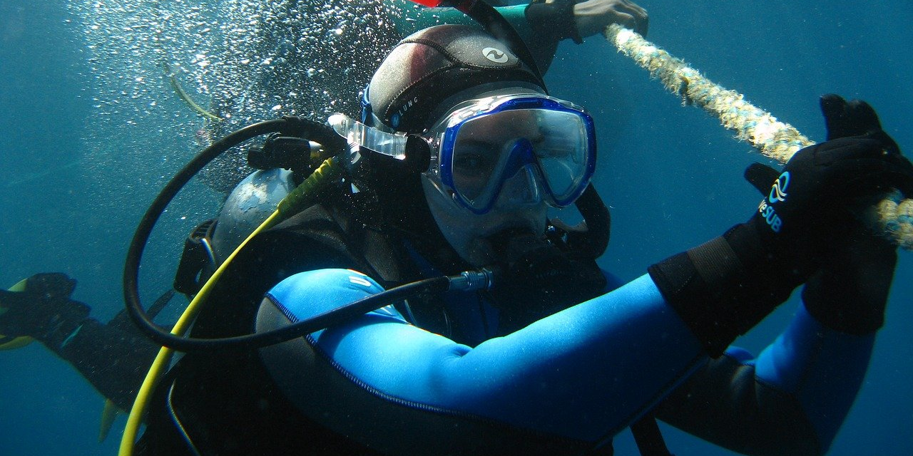 Diving in St Barts