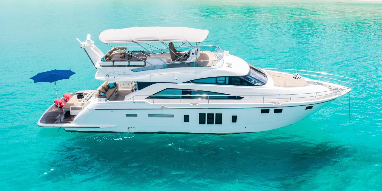 yacht St Barts